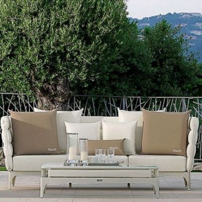 SOFA OUTDOOR PAD WITH CENTRE TABLE LIVING