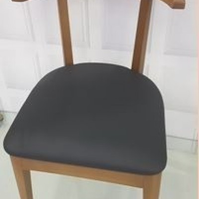 CHAIR SOLID WOOD  -  SCROLL-EX
