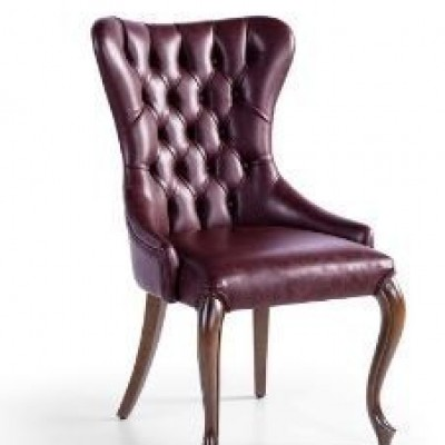 CHAIR SOLID WOOD  -  LUXURIA-EX