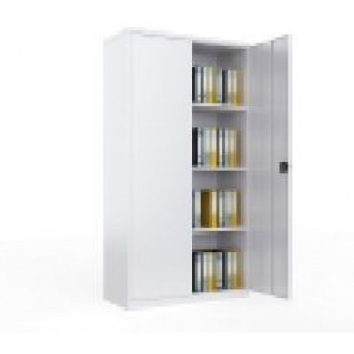 CABINET FOR FILE FOUR SHELVES METAL