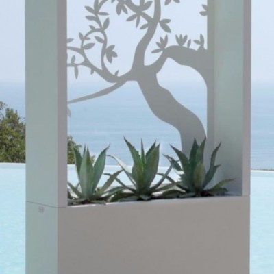 PLANTER OLIVE DECORATION