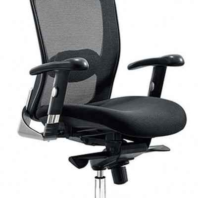 CHAIR EXECUTIVE HIGH BACK SWIVEL MESH 826A