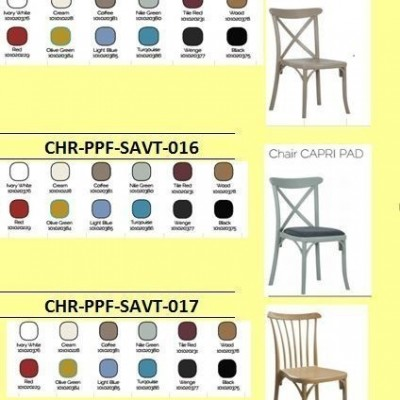 CHAIR OUTDOOR PP- SAV SERIES2