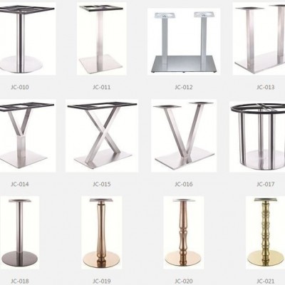 TABLE BASE STAINLESS STEEL