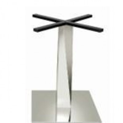 TABLE BASE SINGLE  STAINLESS STEEL
