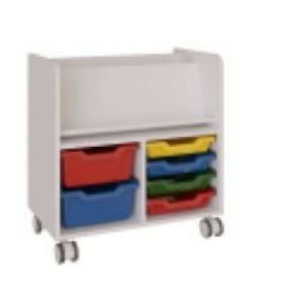 CABINET WITH SMALL AND BIG TRAYS MODULAR