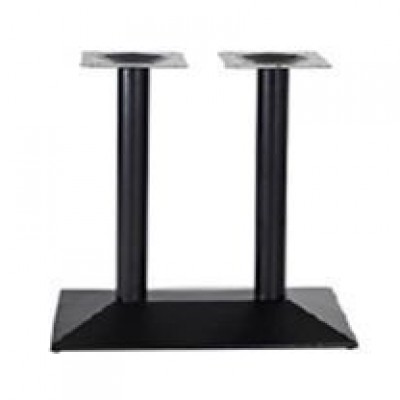 TABLE BASE DOUBLE  DARK BROWN