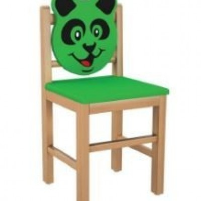 CHAIR FOR KIDS WOODEN PANDA